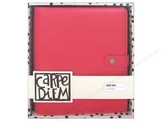 Simple Stories Collection Carpe Diem A5 Planner Coral