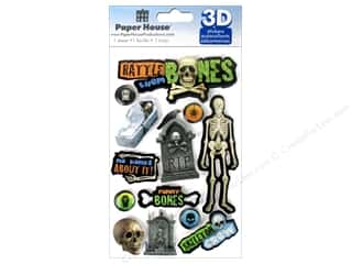 Paper House Sticker 3D Rattle Them Bones