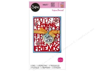 Clearance: Sizzix Thinlits Die Set 2 pc. Friends