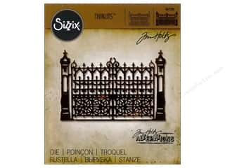 dies: Sizzix Thinlits Die 1 pc. Gothic Gate
