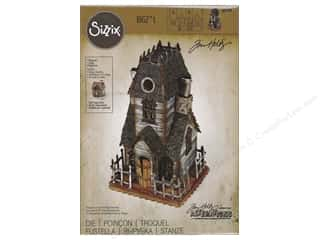 die cutting machine: Sizzix Dies Tim Holtz Bigz Village Manor