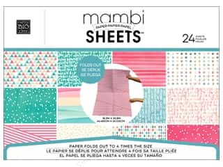 "MAMBI Sheets Paper Pad 18.3""x 25.8"" Stay Golden"