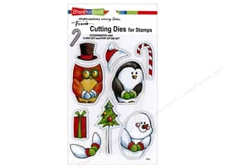 dies: Stampendous Die Winter Friends