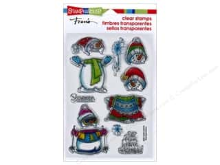 stamps: Stampendous Clear Stamps Winter Stack
