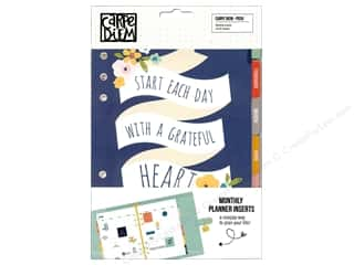 Simple Stories: Simple Stories Collection Carpe Diem Posh Monthly Inserts