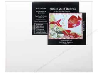 Artsi2 Quilt Board No Sew Quilt Wall Hanging Kit 11 x 13 1/2 in. Ocean Scape