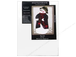 Artsi2 Quilt Board No Sew Quilt Wall Hanging Kit 8 x 12 in. Max