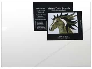 Sewing & Quilting: Artsi2 Quilt Board No Sew Quilt Wall Hanging Kit 16 x 12 in. Horse