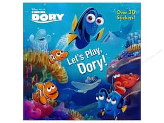 books & patterns: Random House Disney Let's Play, Dory! Book