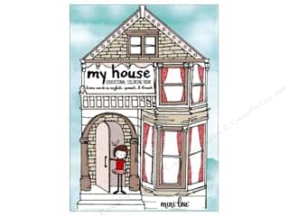 MiniLou My House Educational Mini Coloring Book