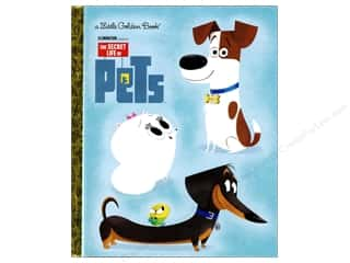 books & patterns: Golden Books The Secret Life of Pets Book