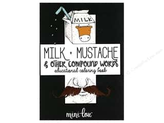 MiniLou Milk Mustache Mini Coloring Book