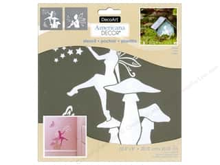 DecoArt Americana Decor Stencil 8 x 8 in. Fairies