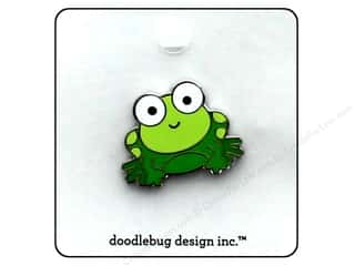 eye pin: Doodlebug Enamel Pin Boos & Brews Froggy