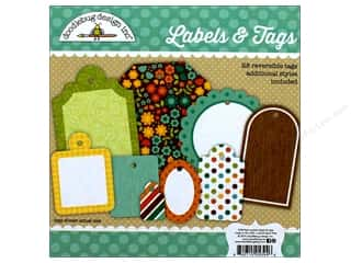 Doodlebug Labels & Tags Flea Market