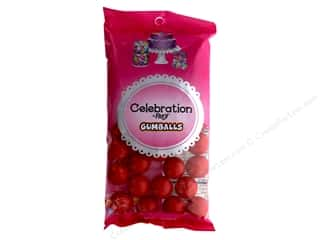 SweetWorks Celebration Gumballs 8 oz. Red