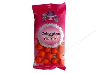 SweetWorks Celebration Gumballs 8 oz. Orange