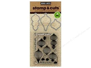 die cutting machines: Hero Arts Stamp & Cut Ornaments