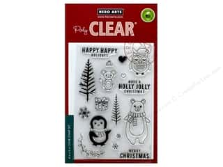 stamps: Hero Arts Poly Clear Stamp Holiday Animals