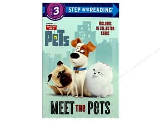 books & patterns: Random House Meet The Pets Book