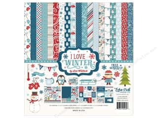 "Echo Park Collection I Love Winter Collection Kit 12""x 12"""