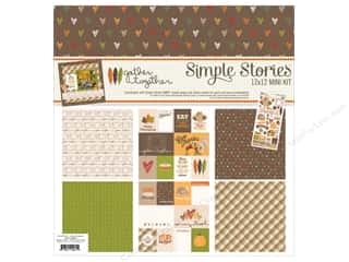 Simple Stories 12 x 12 in. Collection Kit Gather Together