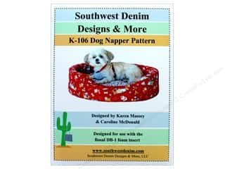 books & patterns: Southwest Denim Designs & More Dog Napper Pattern