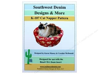 books & patterns: Southwest Denim Designs & More Cat Napper Pattern