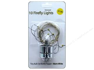 craft & hobbies: Sierra Pacific Crafts Lights Firefly Ornament Battery Warm White
