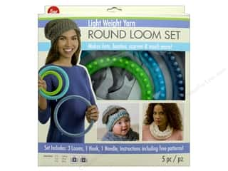 yarn & needlework: Boye Light Weight Yarn Round Loom Set