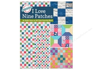 Clearance: Block-Buster Quilts - I Love Nine Patches: 16 Quilts from an All-Time Favorite Block Book by Karen M. Burns
