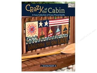Clearance: That Patchwork Place Crazy at the Cabin Book