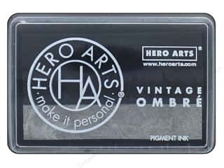 ombre ink pad: Hero Arts Ink Pad Ombre Vintage Metallic Steel