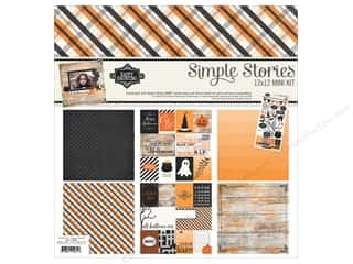 "Simple Stories: Simple Stories Collection Happy Haunting Kit 12""x 12"""