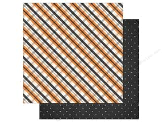 """Simple Stories Collection Happy Haunting Paper 12""""x 12"""" Trick or Treat (25 sheets)"""