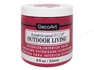 craft & hobbies: DecoArt Americana Decor Outdoor Living Exterior/Interior Paint 8 oz. Garden Party