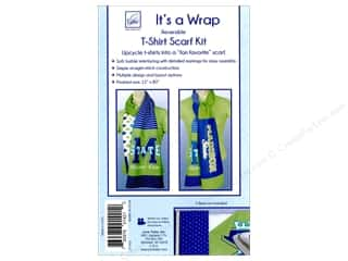 June Tailor Notions It's A Wrap T-shirt Scarf Straight