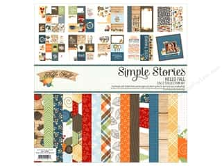 Simple Stories: Simple Stories 12 x 12 in. Collection Kit Hello Fall