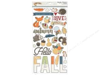 Simple Stories: Simple Stories Stickers Hello Fall Chipboard