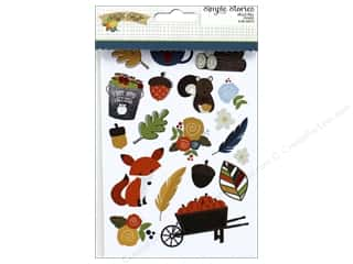 "Simple Stories: Simple Stories Collection Hello Fall Sticker 4""x 6"""