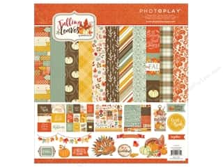 "Photo Play Collection Falling Leaves Collection Pack 12""x 12"""