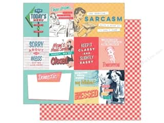 """Photo Play Collection Slightly Sassy Paper 12""""x 12"""" Sassy Cards (25 sheets)"""
