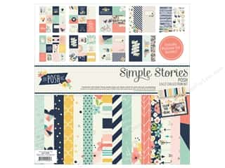 "stickers: Simple Stories Collection Posh Collection Kit 12""x 12"""