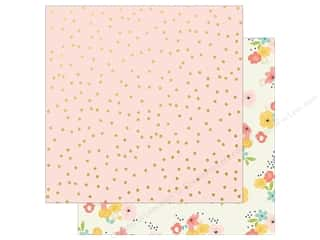 scrapbooking & paper crafts: Simple Stories 12 x 12 in. Paper Posh Chose To Shine (25 sheets)