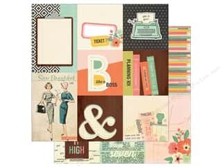 Simple Stories: Simple Stories 12 x 12 in. Paper The Reset Girl 4x4 & 4x6 Vertical Elements (25 sheets)