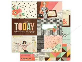 Simple Stories: Simple Stories 12 x 12 in. Paper The Reset Girl 4x6 Horizontal Elements (25 sheets)