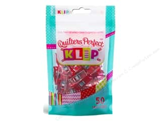 KLIPit Quilters Perfect Klip 50pc Red