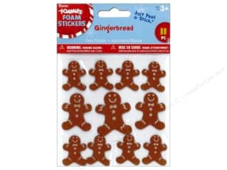 stickers: Darice Foamies Sticker Gingerbread