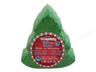 Ornament: Darice Foamies Ornament Trees 24 pc