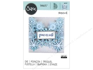 dies: Sizzix Thinlits Die 1 pc. Snowflake Card